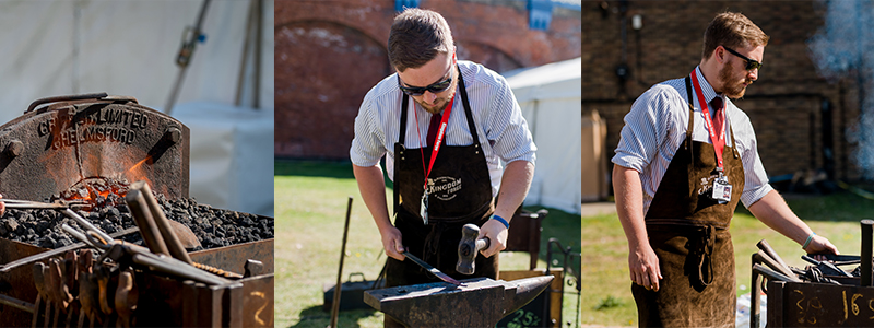Kingdom Forge at the Artisan Collective Fairs