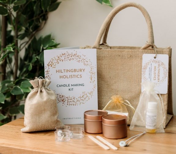 Scented soy candle making kit