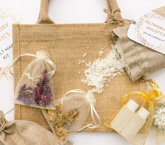 Scented soy wax melt making kit